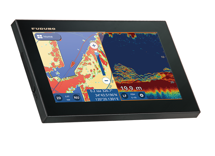 Furuno does it again! NEW Chartplotter GPS COMBO GP 1971F Available in June  2018