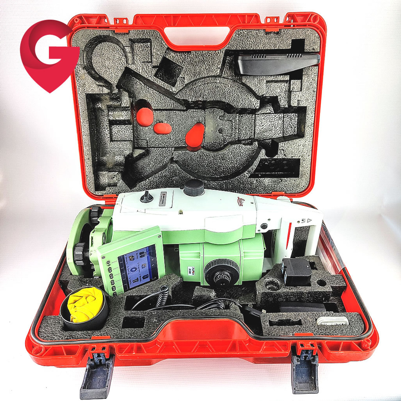 Leica TCRP1205+ R1000 Robotic Total Station & CS15 - Used