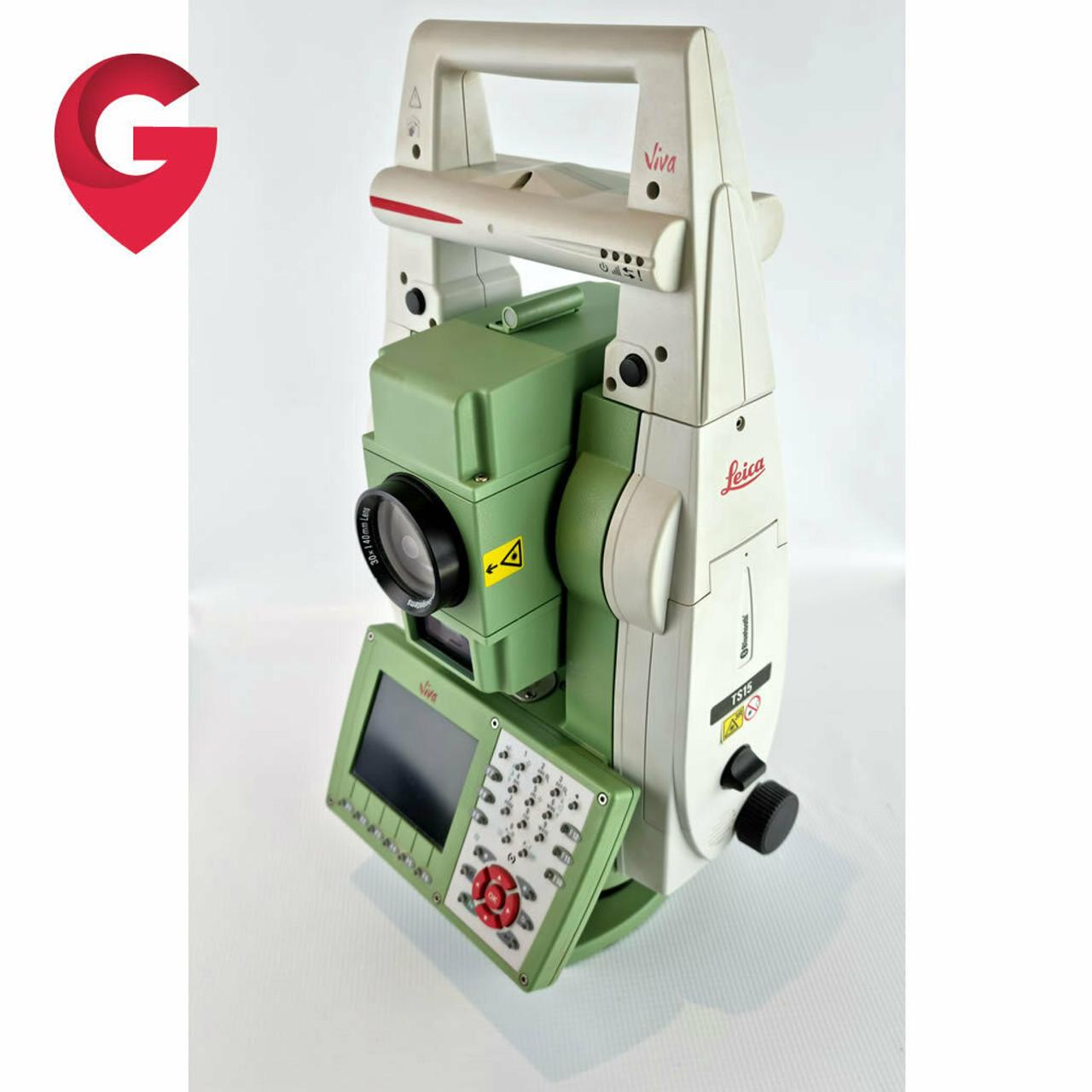 "Leica TS15 P 3"" R1000 Robotic Total Station & CS15 - Used"