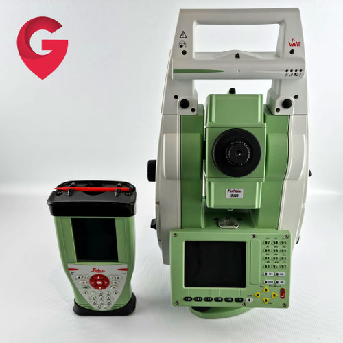"""Leica TS12 P 7"""" R400 Robotic Total Station - Used"""