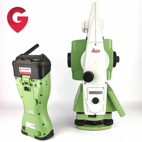 Leica TCRP1203+ R1000 Robotic Total Station & CS15 - Used