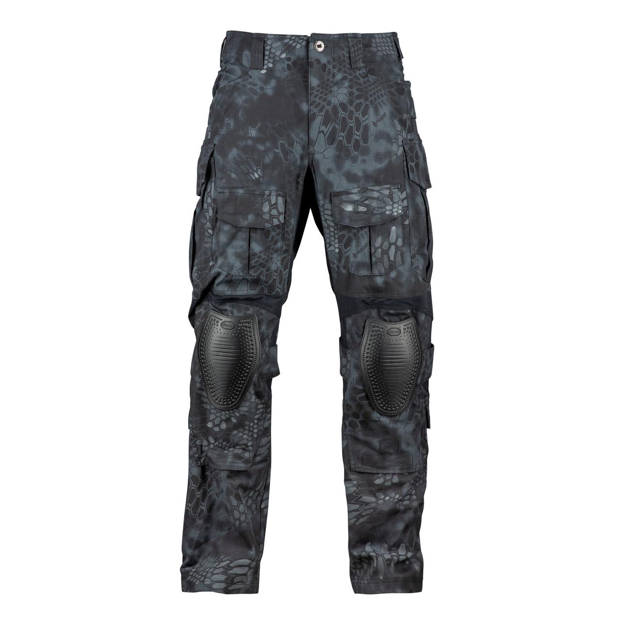 Surplus Airborne Mens Baggy Trousers Combat Army Work Pants Black Camo Pattern