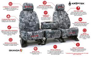 Kryptek Seat Covers Neosupreme Solid