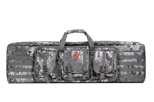 "Tactical 42"" Camo Padded Rifle Case in Raid"