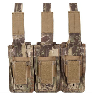 M4 Open Top Triple Mag Pouch (w/Kangaroo Pistol Pouch)