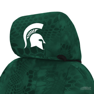 Michigan State University Seat Cover Headrest