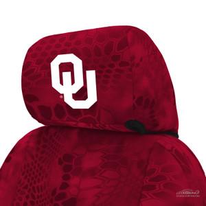 University of Oklahoma Seat Cover Headrest