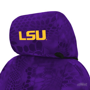 Louisiana State University Seat Cover Headrest
