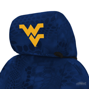 West Virginia University Seat Cover Headrest