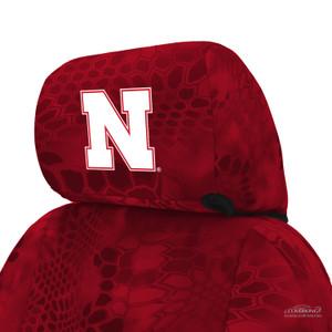 University of Nebraska Seat Cover Headrest