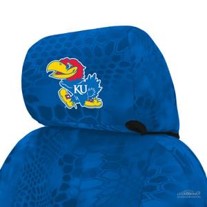 University of Kansas Seat Cover Headrest