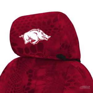 University of Arkansas Seat Cover Headrest