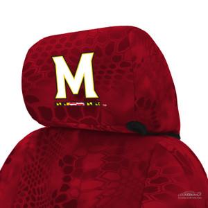 University of Maryland Seat Cover Headrest