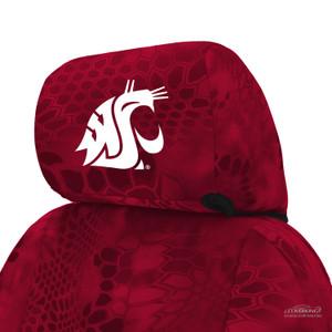 Washington State University Seat Cover Headrest