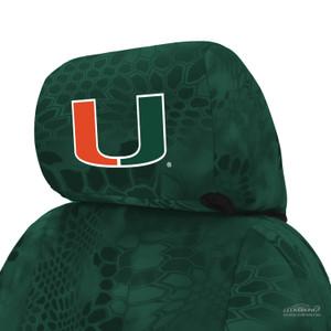 University of Miami Seat Cover
