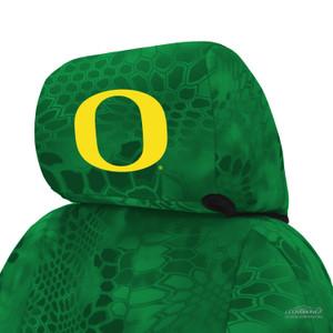 University of Oregon Seat Cover Headrest