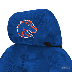 Boise State Seat Cover Headrest