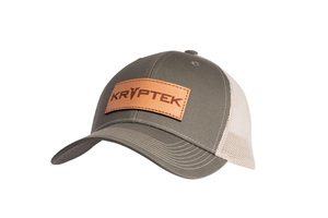 Leather Patch Hat Rec Olive-Tan