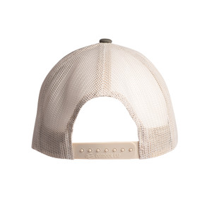 Leather Patch Hat Brown-Tan