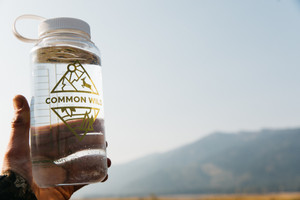 Common Wild Nalgene Water Bottle Clear