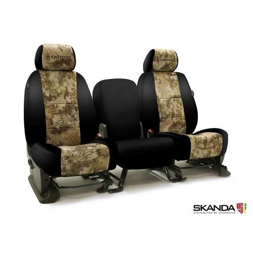 Kryptek Seat Covers Neosupreme Black Sides