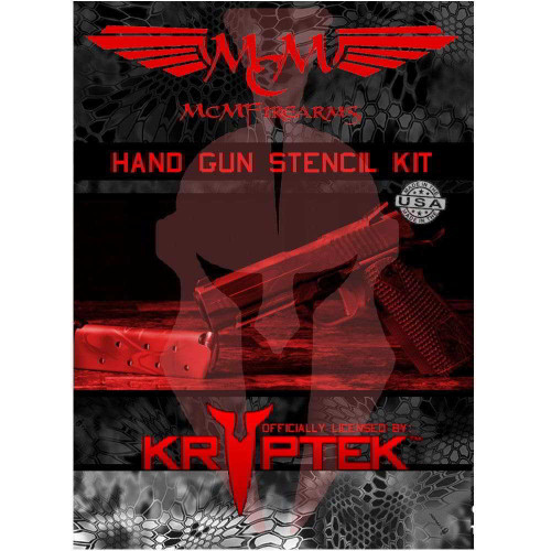 MCM Firearms Handgun Stencil Kit