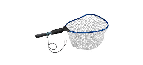 "Wade Kryptek—Medium Clear Rubber Net Clip On Tether—17"" x 19"" Hoop"