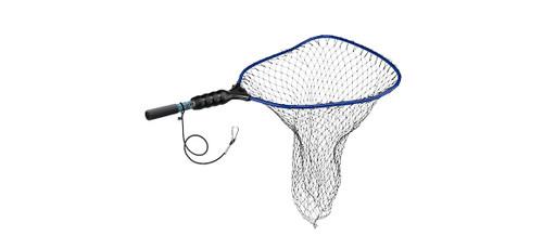 "Wade Kryptek—Large Rubber Coated Nylon Net Clip On Tether—19"" x 21"" Hoop"