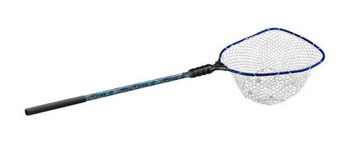 """Kryptek S1 Genesis—Large Clear Rubber Net 31 inch Removable Handle — 19"""" x 21"""" Hoop"""