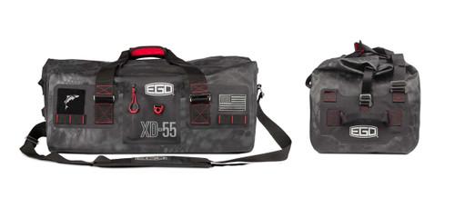 EGO 55L Tactical Dry Gear Bag 100% Waterproof