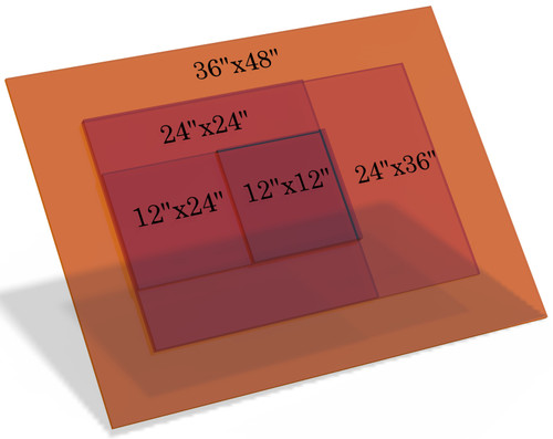 KTP 532nm Acrylic Class 4 Laser Safety Window
