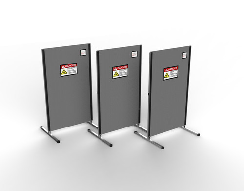Laser Safety Portable Barrier - 10,000W