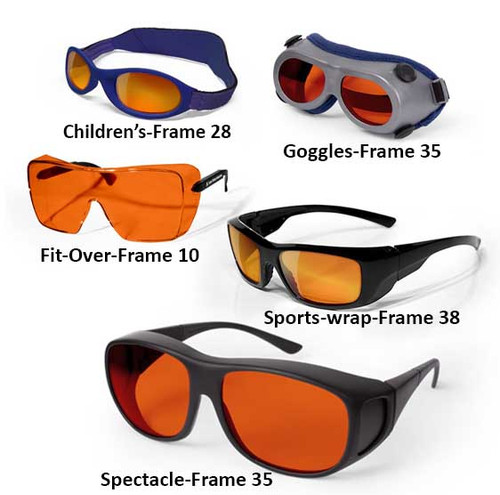 450 nm Laser Safety Glasses