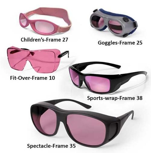 Diode 808-815nm Laser Safety Glasses