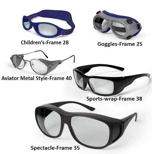 950nm - 11000nm Laser Safety Glasses and Goggles
