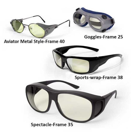Ultra Violet Laser Safety Glasses