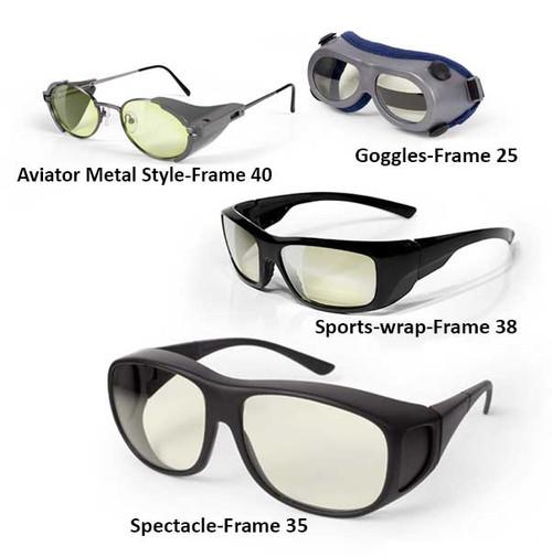 Ultra Violet Laser Safety Glasses