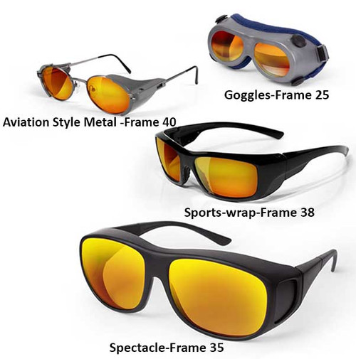 1064nm ND Yag Laser Safety Glasses and Goggles