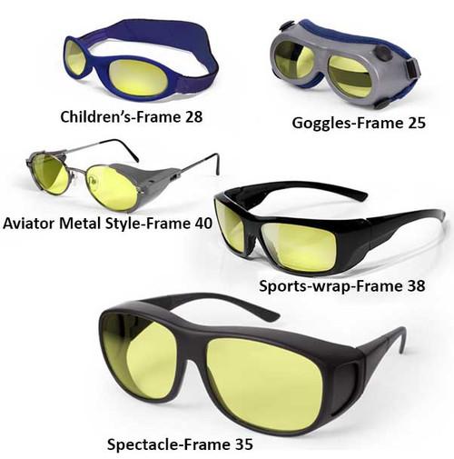 Nitrogen Laser Glasses