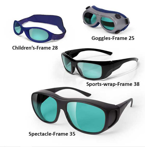 HeNe Laser Safety Glasses and Goggles