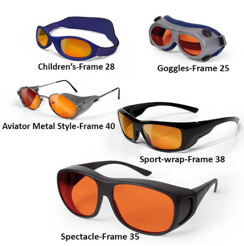 Glass Laser glasses