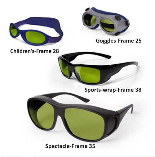 Ultra Violet and Infrared Laser Safety Glasses