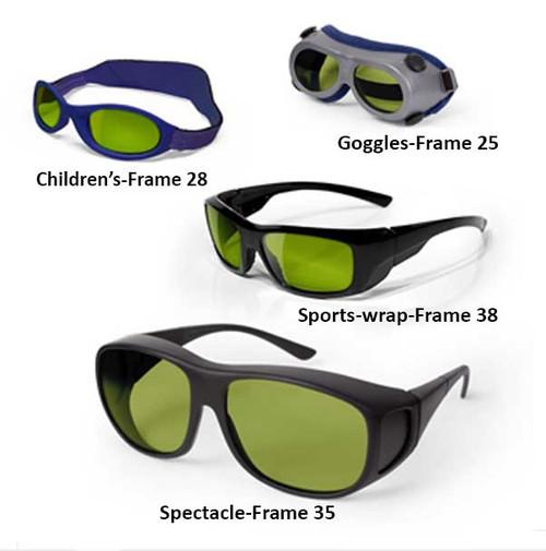 Ultra Violet and Infrared Laser Safety Glasses