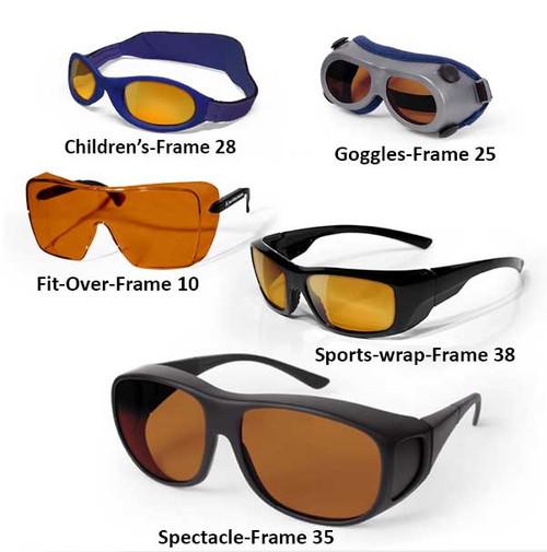 Double YAG Laser Safety Glasses