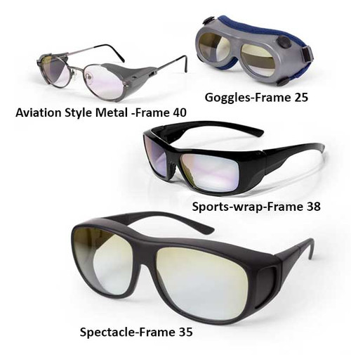 1000 - 1100 nm Laser Safety Glasses and Goggles