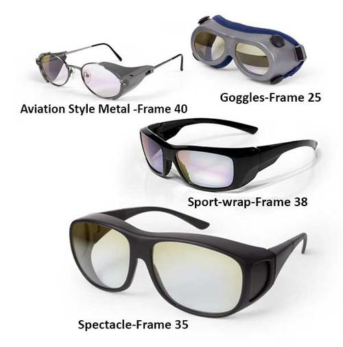 1064 nm Nd:YAG Laser Safety Glasses