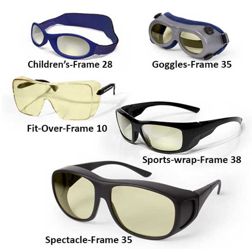 Excimer Laser Safety Glasses and Goggles