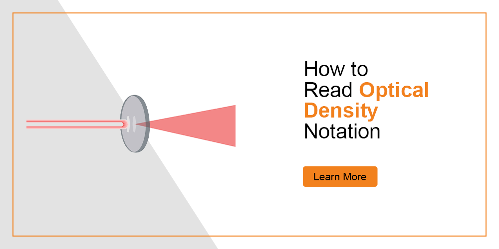 How to Read Optical Density Notation