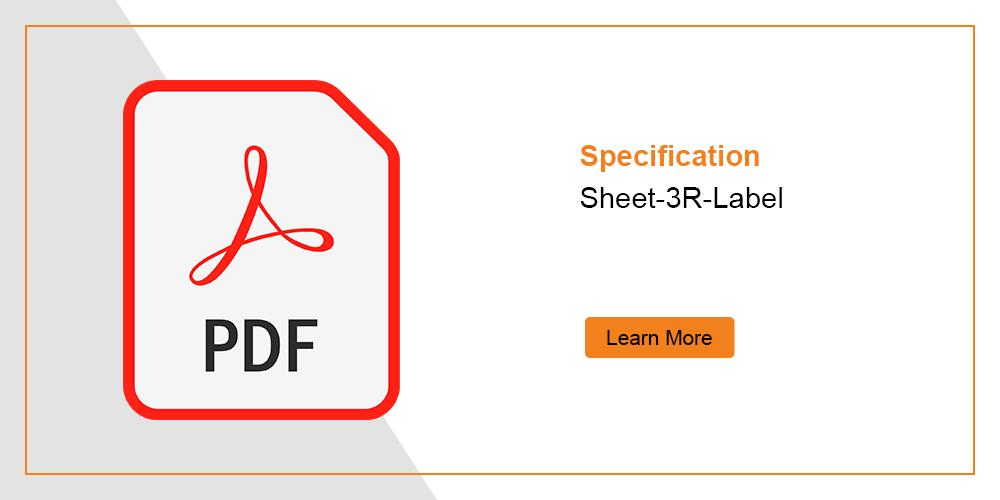 Laser Safety Label 3R