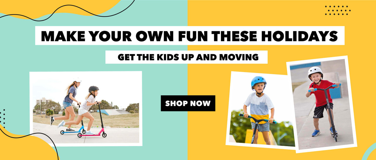 scooters for school holiday fun